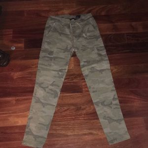 Army print cargo pants