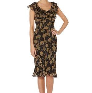 Polo Ralph Lauren Silk Georgette 2 Piece Dress