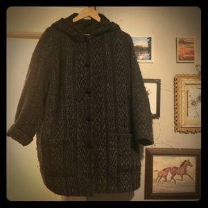 Vintage Irish Wool Coat