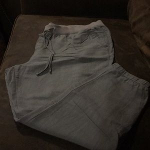 Old Navy drawstring ankle pants