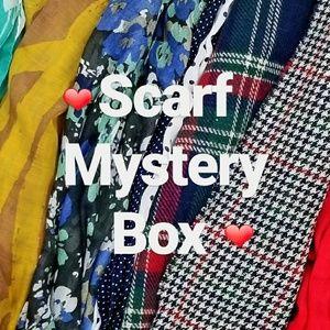 3 Cozy Scarf Mystery Box Bundle Blanket/Infinity