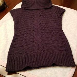 Precious eggplant  colored sweater!
