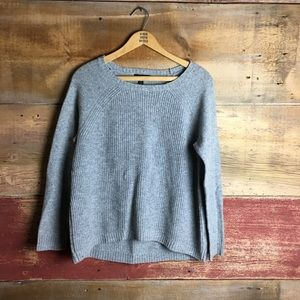 J.Crew Elbow Patch Sweater