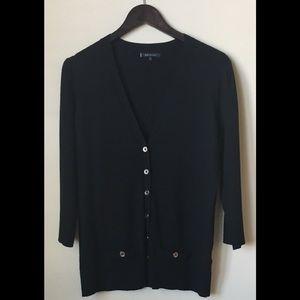 Anne Klein Black Cardigan Sweater