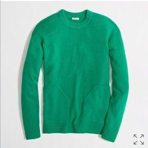 Green J Crew Sweater