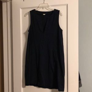 J. Crew pocketed dress tunic