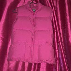 Woman's Pink Bubble Vest