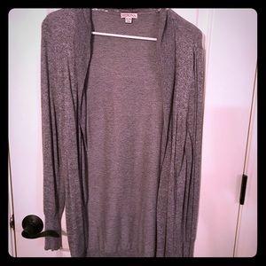 Basic gray sweater