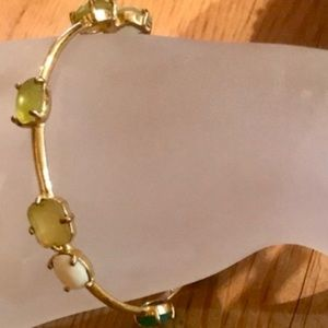 Kate Spade Multicolor Stones/Gold Color Bracelet