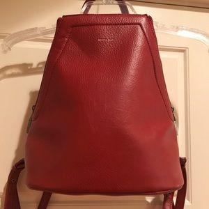 Vegan Matt & Nat Dark Red Bag (backpack)