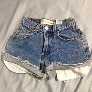 Cute Levi's 550 vintage shorts