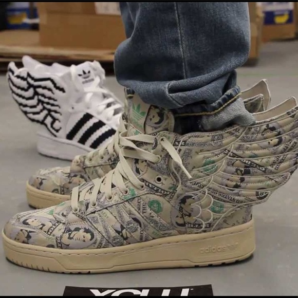 new concept 8fe2c 0fd4d Jeremy Scott x Adidas Other - Adidas Originals by Jeremy Scott  Money Wings   2.0