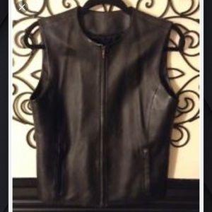 Women's Serrano soft leather vest