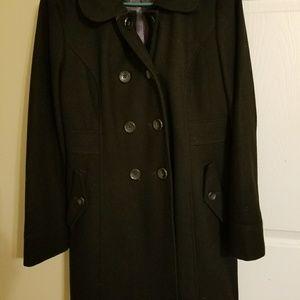 Old Navy 3/4 Length Blacj Pea Coat