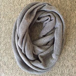 Steve Madden shimmer infinity scarf