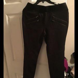 Victoria's Secret moto stretch pant
