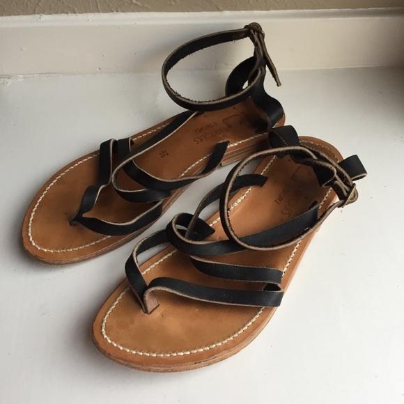 7716ca1b1747 K. Jacques Shoes - K Jacques St Tropez Epicure  Sandals Sz 39 Black