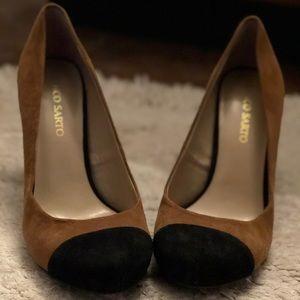 Nude & Black Heels