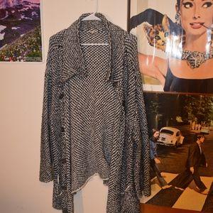 Eileen Fisher Heavy Knit Cardigan Sweater