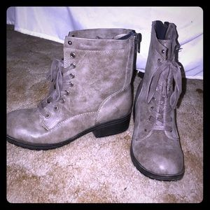 Madden Girl lace up boots