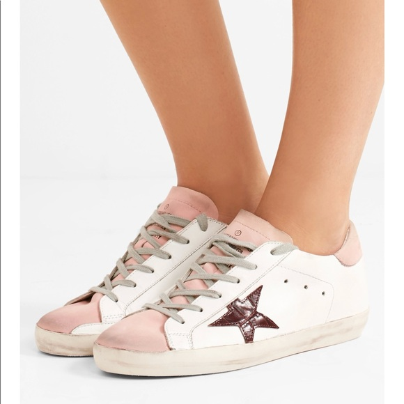 Golden Goose Shoes   Nib Superstar Pale Pink Size 39   Poshmark 9e70acc46ec0