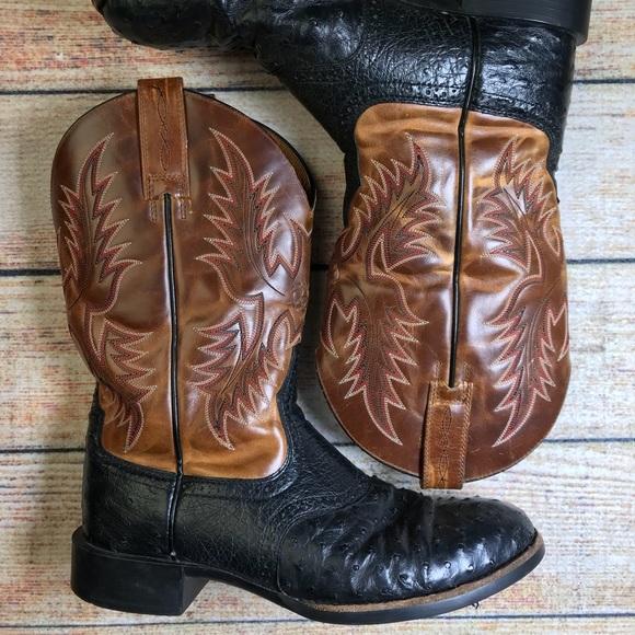 9031de10cc7 Caiman Ariat Men's Heritage Stockman Western Boots