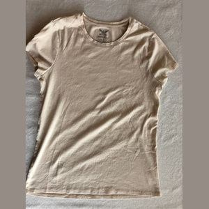 Faded Glory Creamy Tee Size XL