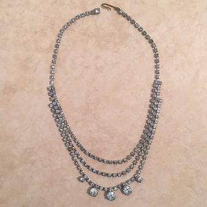 Antique Light blue Necklace