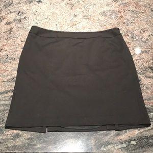 Ann Taylor Loft 18 black pencil skirt