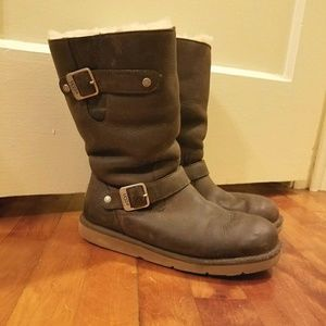 Brown UGG boots size 7