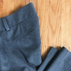 J. Crew charcoal wool suit pants - Sz 8