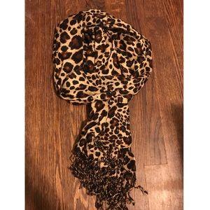NWT Leopard Print Scarf