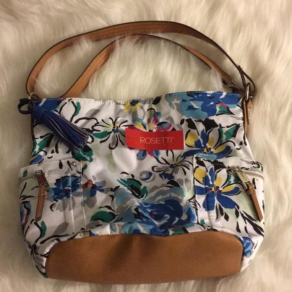 d3a91e963e Rosetti Women s Floral Pattern Brye Hobo Purse Bag
