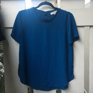 Loft Clean Tee Blouse