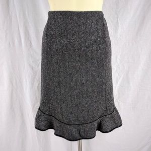 🌸 SALE 🌸 GAP Wool Blend Gray Skirt Fitted