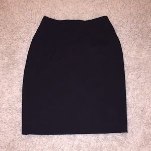 Black business skirt from H&M