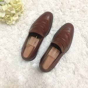 Johnston & Murphy Sheep Skin Leather Loafers