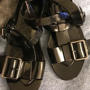 Burberry Gladiator Jelly Sandals