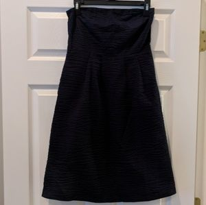 NWT J. Crew strapless dress 100% cotton size 2
