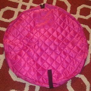 Pink Lay/n/go make up bag