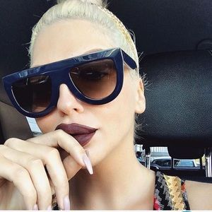 Accessories - Boujee Flat Top UV400 Sunglasses for women