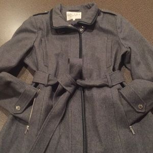 NWOT Rachel Roy wool blend peacoat