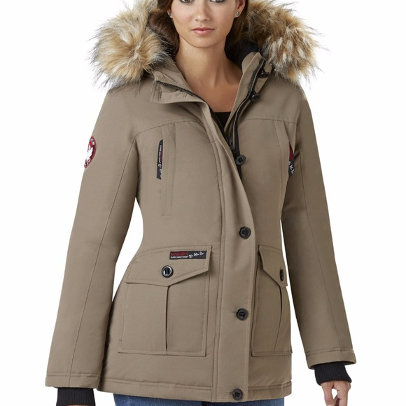 671e4a5f8 Canada Weather Gear Jackets & Coats | Womens Fur Trim Parka | Poshmark