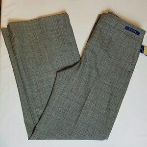 PENDLETON Size 12 Wool Pants Grey Plaid C125