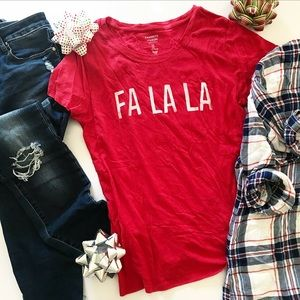 🆕 NWOT GAP FA LA LA t-shirt Size L