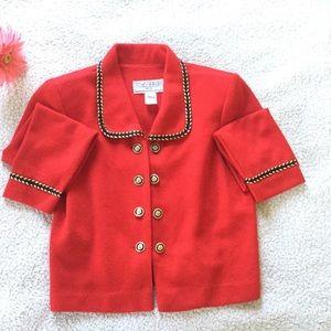 🆕 Jessica Howard Military Style Blazer Size 10