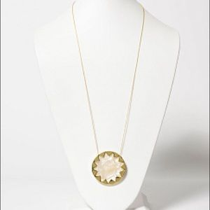 House of Harlow 1960 Jewelry - House of Harlow mother of pearl starburst necklace