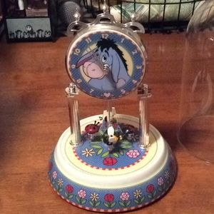 Disney Eeyore Anniversary Clock GUC