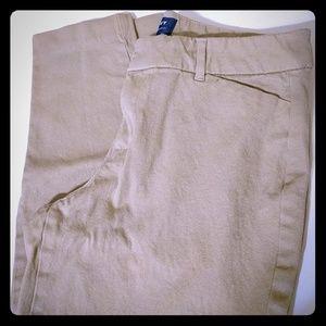 Khaki Pixie Pants