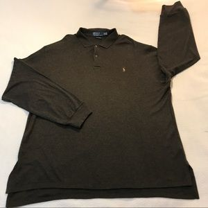 Polo by Ralph Lauren Long Sleeve Pima Soft Polo